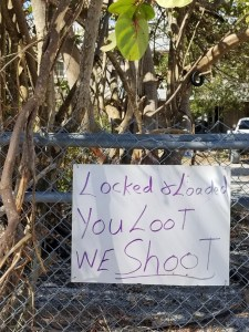 Warning to Looters