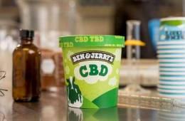 Ben and Jerry's Go CBD