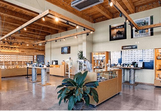 Dockside cannabis museum