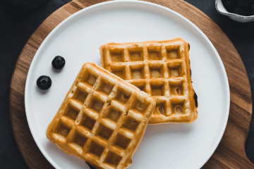 infused waffles