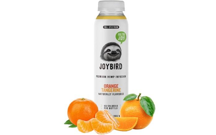 Orange Tangerine CBD Drink by Joybird Wellness
