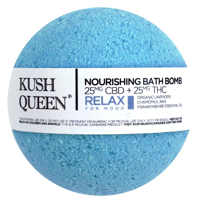 Kush Queen Nourishing Bath Bomb in Relax