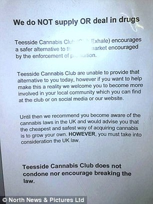 'Club Exhale' model - which allows up to 180 people to use cannabis in a safe and controlled space