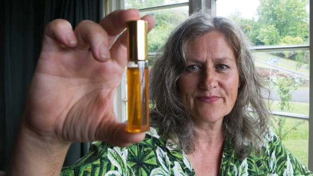 Jeanette Saxby campaigns for the legalisation of marijuana in New Zealand.