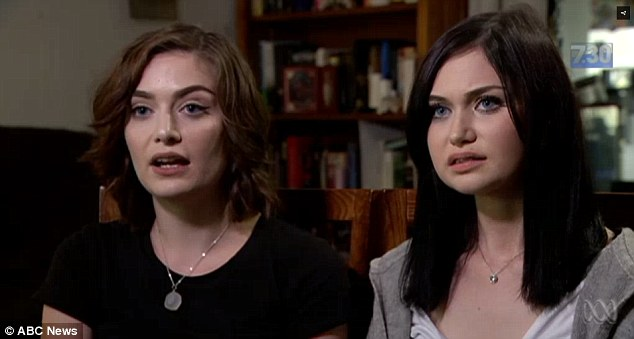 Ariel (left) and Morgan Taylor (right) both suffer from the auto-immune condition