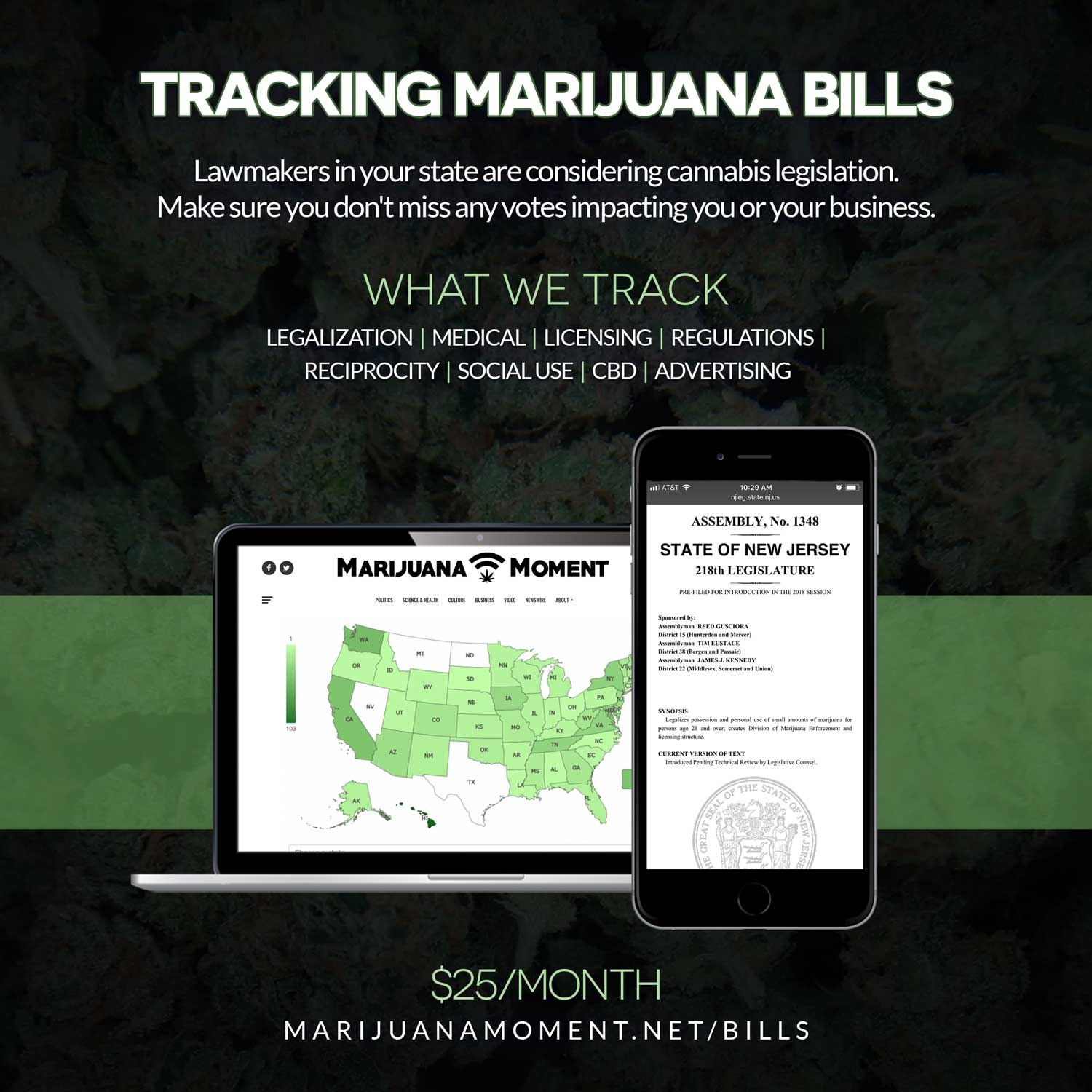 DEA finalizes plan to grow 3.2 million grams of cannabis in 2020 (Newsletter: December 2, 2019)