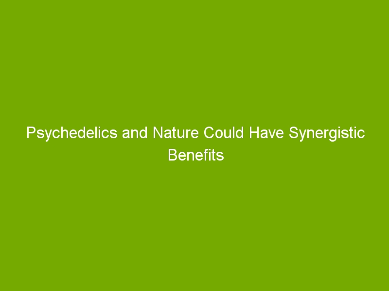 Psychedelics and Nature Could Have Synergistic Benefits