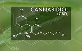 cbd oil chemical image