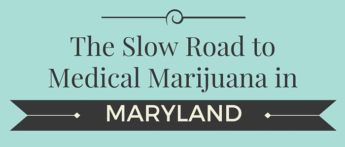 Maryland Licensed Marijuana Sales Delayed until 2017