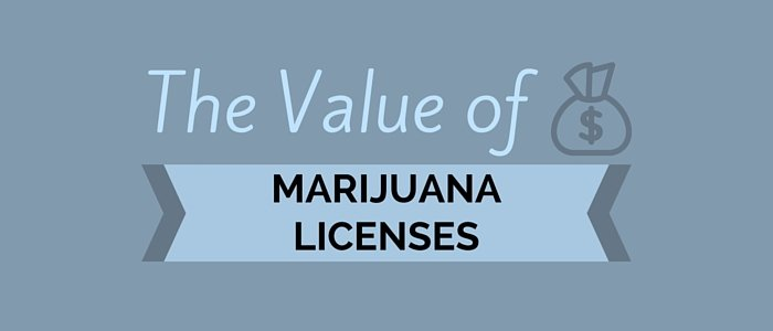 The Value of Marijuana Licenses
