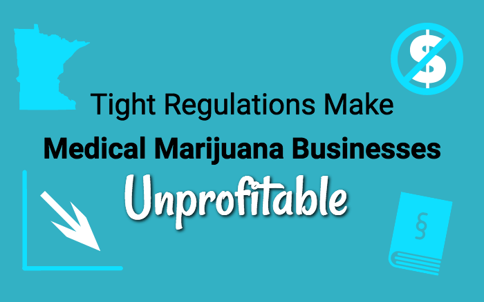 Tight Regulations Make Medical Marijuana Businesses Unprofitable