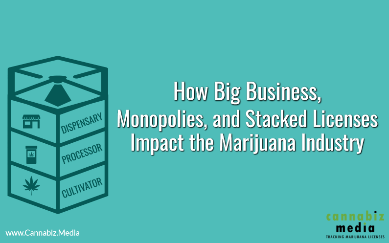 How Big Business, Monopolies and Stacked Licenses Impact the Marijuana Industry
