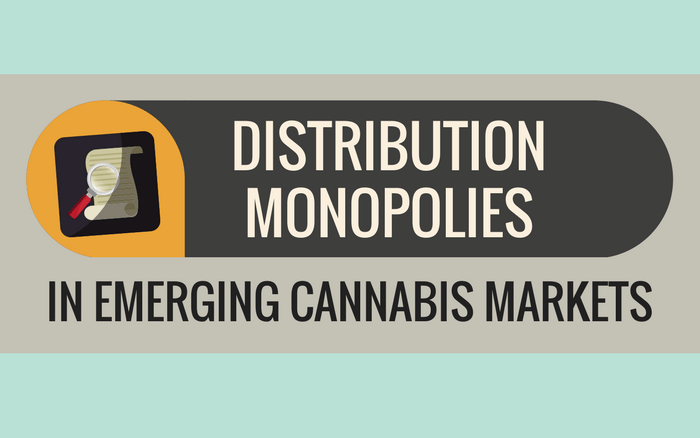Distribution Monopolies in Emerging Cannabis Markets