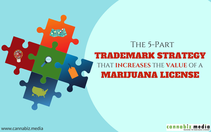 5-Part Trademark Strategy that Increases the Value of a Marijuana License