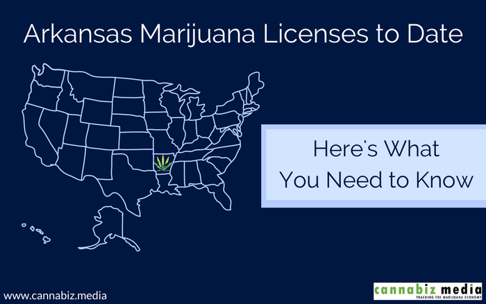 Arkansas Marijuana Licenses to Date – Here's What You Need to Know