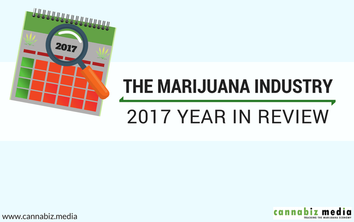 The Marijuana Industry – 2017 Year in Review