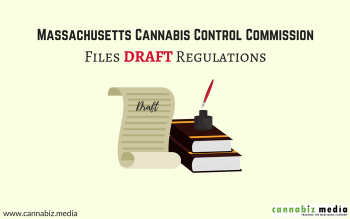 Massachusetts Cannabis Control Commission Files Draft Regulations