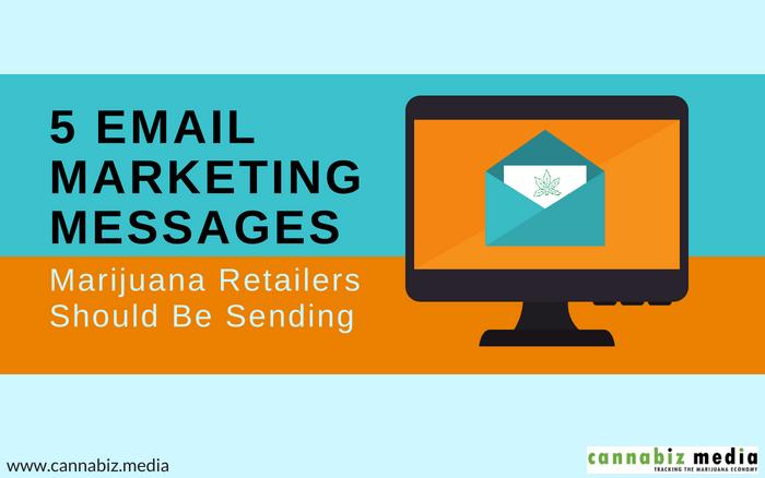 5 Email Marketing Messages Marijuana Retailers Should Be Sending