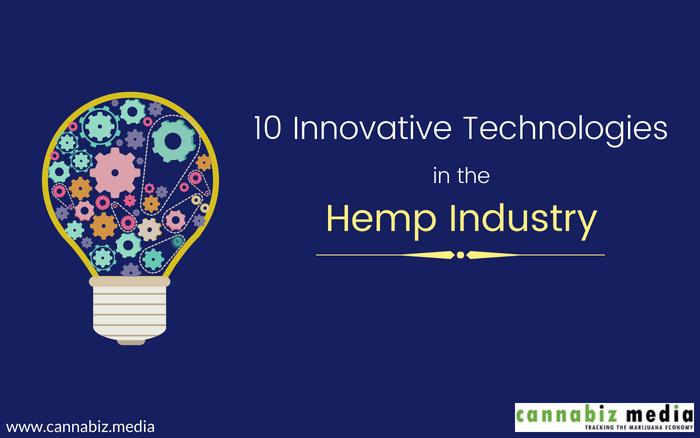 10 Innovative Technologies in the Hemp Industry | Cannabiz Media