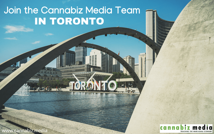 Join the Cannabiz Media Team in Toronto