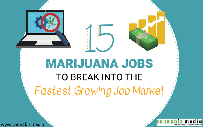 15 Marijuana Jobs to Break into the Fastest Growing Job Market