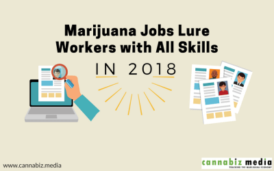 Marijuana Jobs Lure Workers with All Skills in 2018
