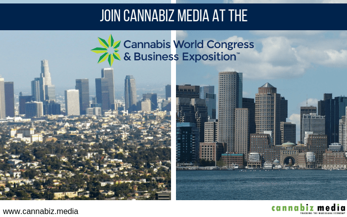 Visit Cannabiz Media at the Cannabis World Congress & Business Expo in Los Angeles and Boston