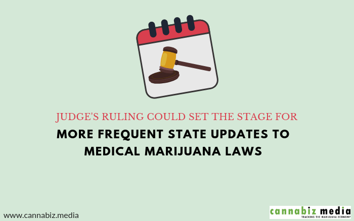 Judge's Ruling Could Set the Stage for More Frequent State Updates to Medical Marijuana Laws