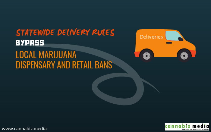 Statewide Delivery Rules Bypass Local Marijuana Dispensary and Retail Bans