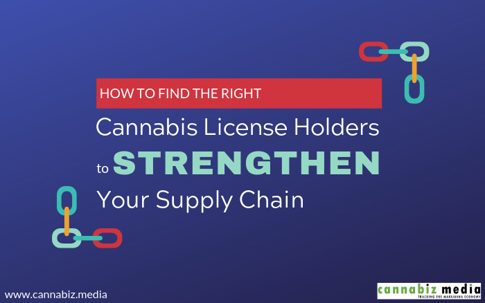 How to Find the Right Cannabis License Holders to Strengthen Your Supply Chain