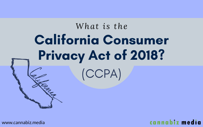 What is the California Consumer Privacy Act of 2018 (CCPA)?