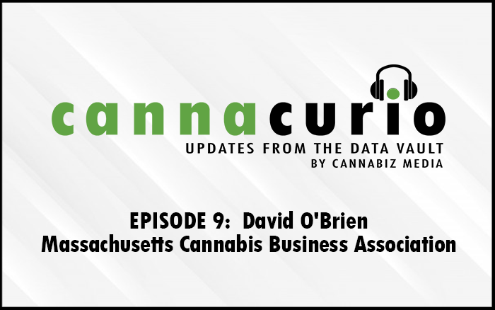 Cannacurio Podcast Episode 9 with David O'Brien of Massachusetts Cannabis Business Association