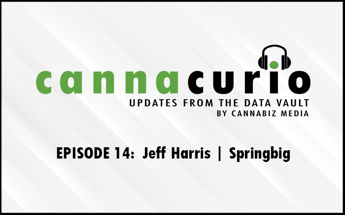 Cannacurio Podcast Episode 14 with Jeff Harris of Springbig