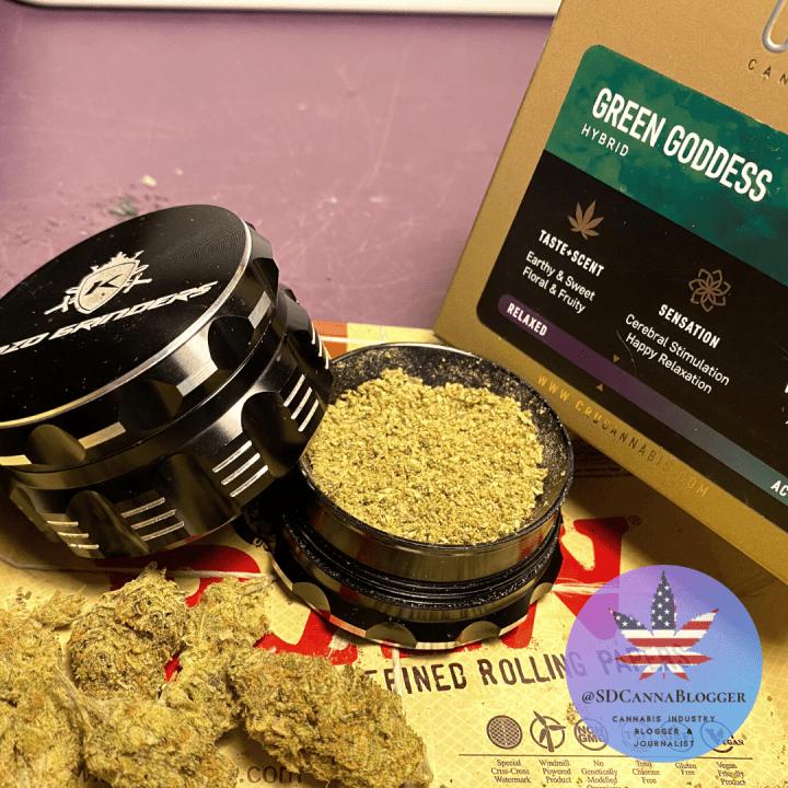 Review | CRU Cannabis's Green Goddess is a Hidden Masterpiece | Mankind