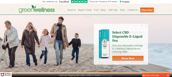 Screenshot 2019 05 27 Buy Lab Tested CBD Hemp Products Online GWL CBD Store - Green Wellness Life