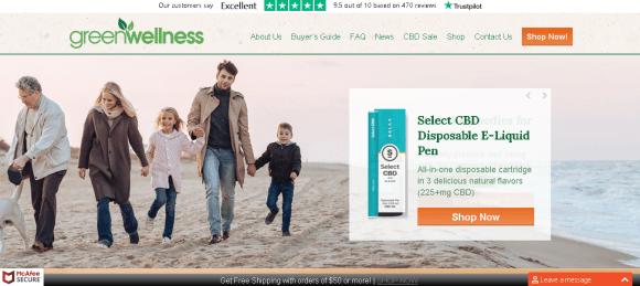 Screenshot 2019 05 27 Buy Lab Tested CBD Hemp Products Online GWL CBD Store 700x313 - Green Wellness Life
