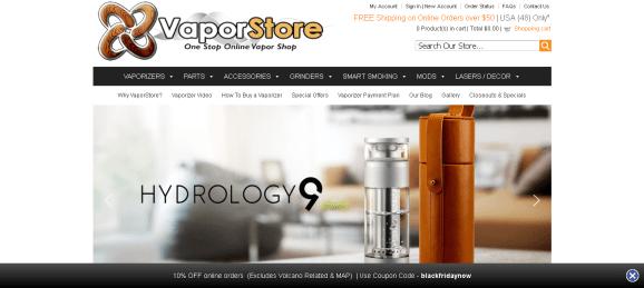 Screenshot 2019 05 27 VaporStore The Original Online Vaporizer Vapor Store - Vapor Store