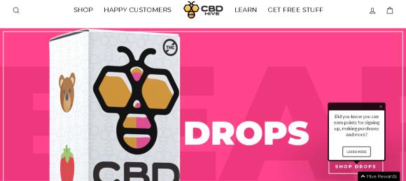 Screenshot 2019 05 28 CBD HIVE 1 Natural CBD Hemp Oil CBD Products Manufacturer in USA 700x313 - CBD Hive