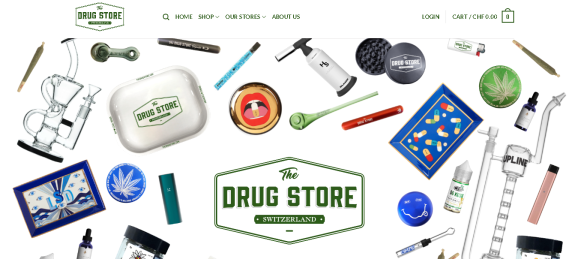Screenshot 2019 06 15 The Drug Store The Worlds 1 Cannabis Store Headshop - TDS