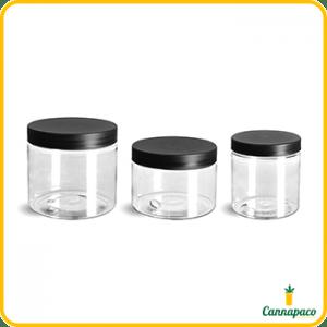 Straight Sided PET Jar