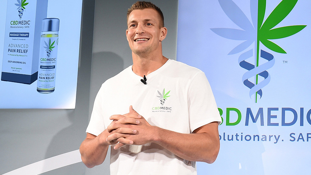 GRONK SEES THE CBD LIGHT: GRONKOWSKI FOCUSING ON CBD COMPANY (AND CANNAPRENEUR EVENT PARTNER) POST GRIDIRON