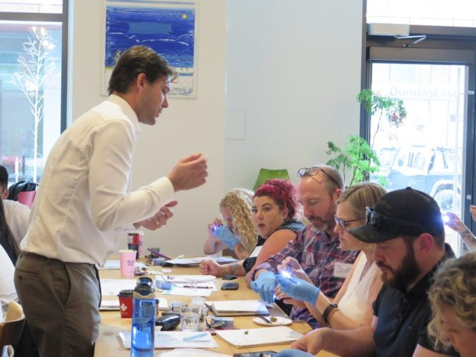 CannaReps students learning in class