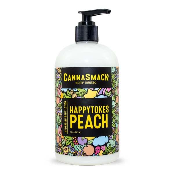 CannaSmack-HappyTokesPeach-16oz