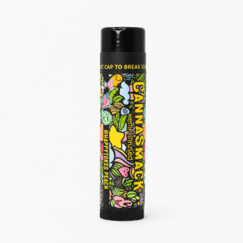 CannaSmack HappyTokes Peach Natural Hemp Lip Balm photo