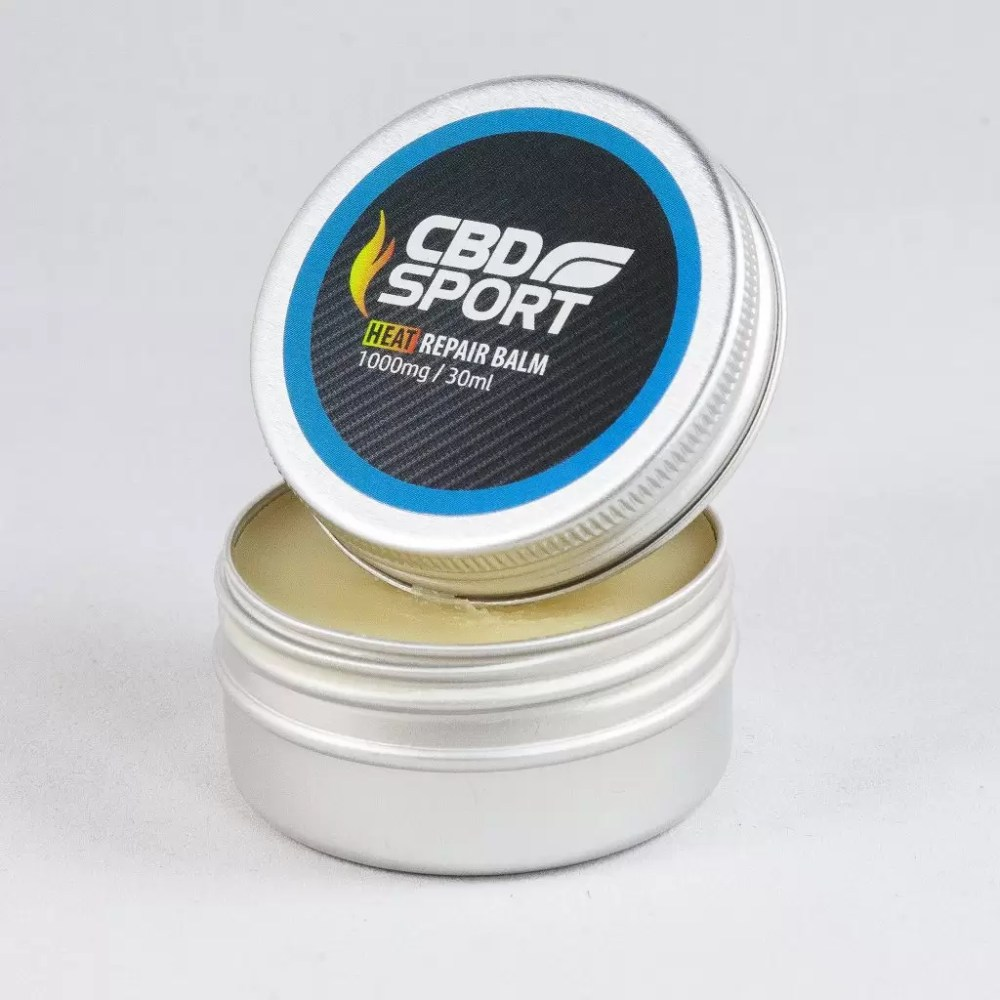 Heat Repair Balm infused with CBD