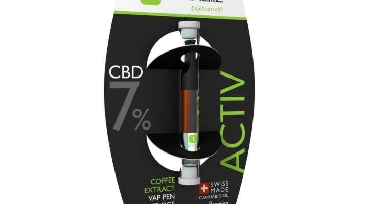 """Cannaliz """"ACTIV"""" Vape Pen Cartridge 0.8 [ml] 7% CBD"""