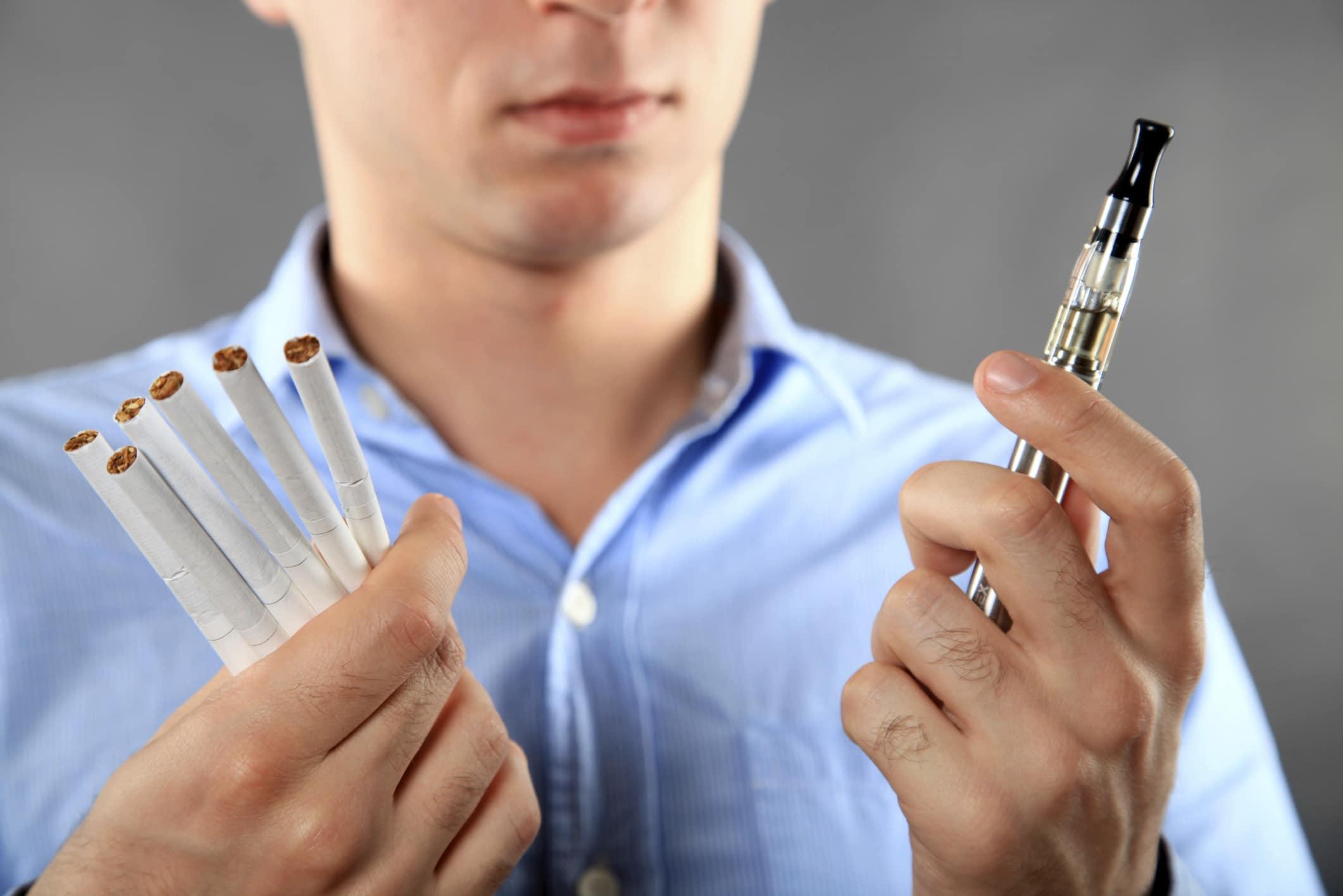 A CBD e-liquid against the addiction to tobacco