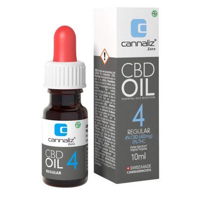 Cannaliz Huile CBD : 4% CBD (Sans THC)