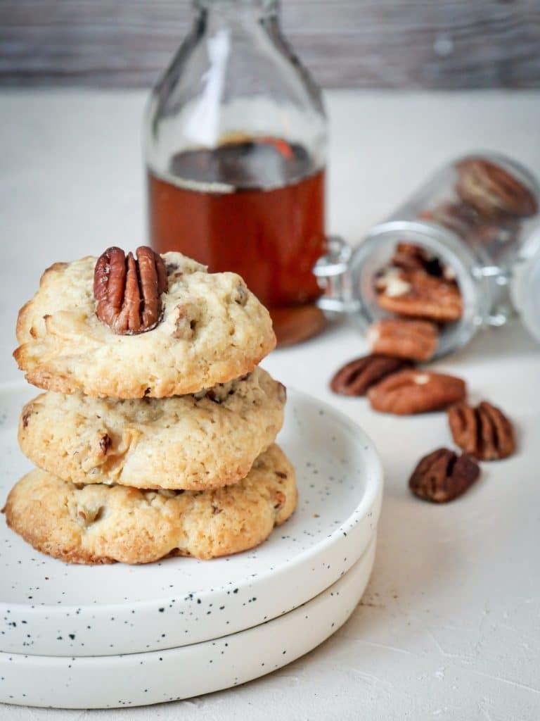 Cookies noix de pécan et sirop d'érable