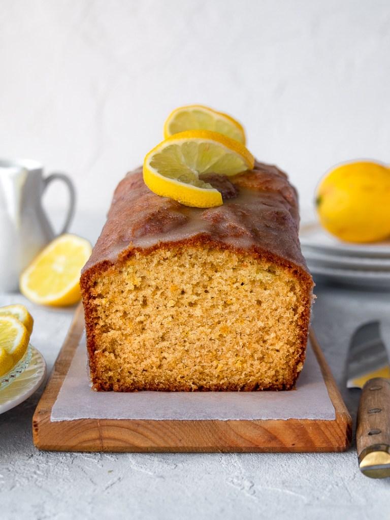 cake moelleux citron et huile d'olive
